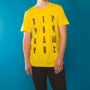hippo campus yellow tee